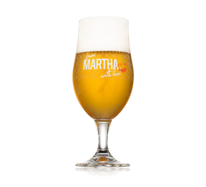 Glass - Martha Beer - The Brew Society