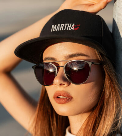 Zwarte pet - Martha - The Brew Society