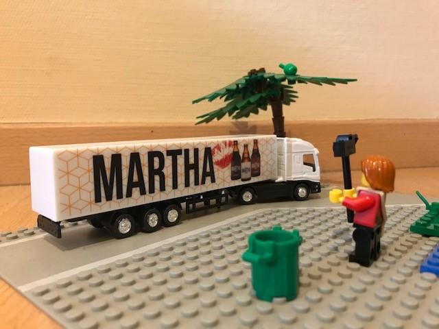 Martha truck als geschenkidee