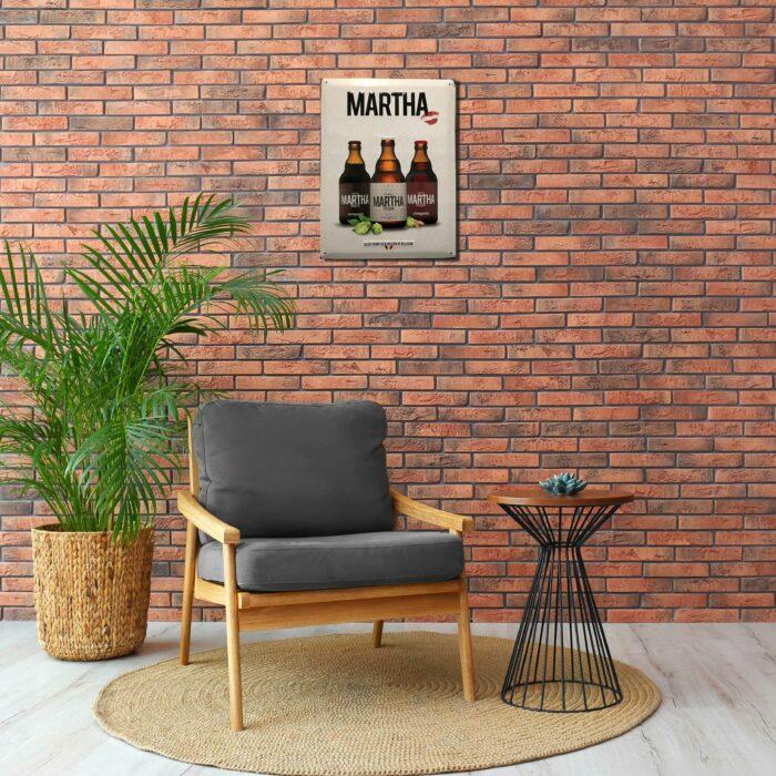 metal plate martha merchandise on the brew society webshop